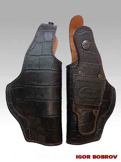 Закрытая кобура для пистолета ПМ поясная IGOR BOBROV