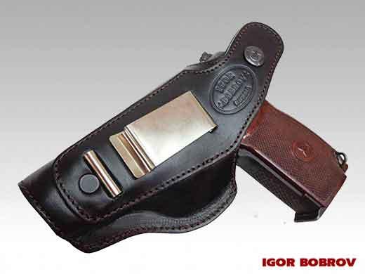 Кобура для пистолета ПМ поясная Falcon N08