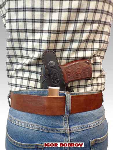 Кобура для ношения за спиной пистолета Макарова Falcon N08