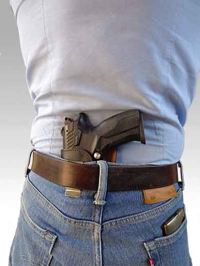 Открытая кобура для скрытого ношения за спиной пистолетов GP T11, GP T12, Vendetta